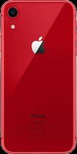 Achterkant iphone xr refurbished rood