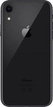 Achterkant apple iphone xr zwart