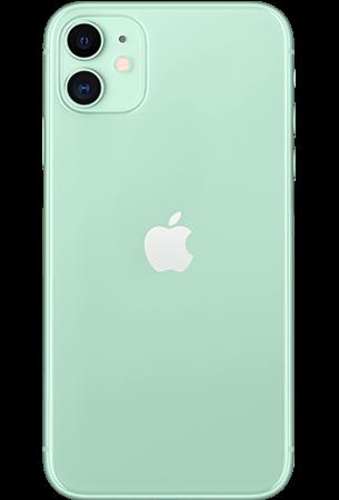 Achterkant apple iphone 11 green