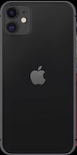 Achterkant apple iphone 11 black
