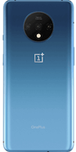 Achterkant oneplus 7t dual sim blauw