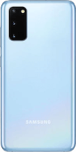 Achterkant samsung galaxy s20 dual sim blauw