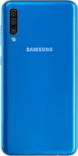 Achterkant samsung galaxy a50 blauw
