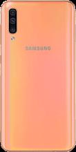 Achterkant samsung galaxy a50 oranje