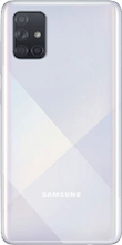 Achterkant samsung galaxy a71 dual sim zilver