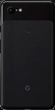 Achterkant google pixel 3 xl black