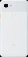 Achterkant google pixel 3a wit