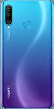 Achterkant huawei p30 lite dual sim blauw