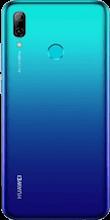 Achterkant huawei p smart 2019 dual sim blauw
