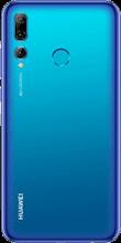 Achterkant huawei p smart plus 2019 dual sim blauw