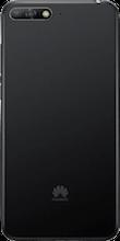 Achterkant huawei y6 2018 zwart