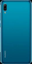Achterkant huawei y6 2019 dual sim blauw
