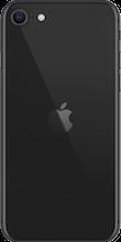 Achterkant apple iphone se 2020 zwart