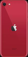 Achterkant apple iphone se 2020 rood