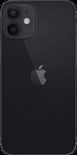 Achterkant apple iphone 12 mini zwart