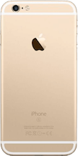 iPhone 6s Gold achterkant