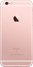 Iphone 6s roze gold achterkant refurbished