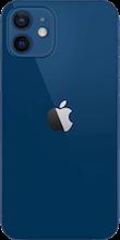 Achterkant apple iphone 12 blauw