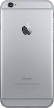 Achterkant iphone 6 black