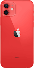 Achterkant apple iphone 12 rood