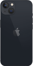 Achterkant apple iPhone 13 mini zwart