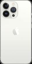 Achterkant apple iPhone 13 pro max zilver