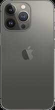 Achterkant apple iPhone 13 pro zwart