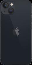 Achterkant apple iPhone 13 zwart