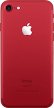 Achterkant iphone 7 refurbished red