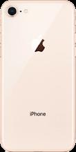 Achterkant iphone 8 gold