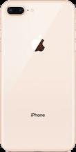 Achterkant iphone 8 plus gold