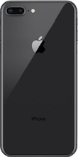 Achterkant iphone 8 plus black