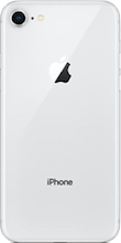 Achterkant iphone 8 silver