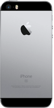 Achterkant iphone se gray