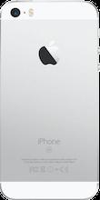 Achterkant iphone se zilver