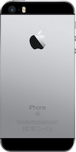 Achterkant iphone se grijs