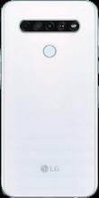 Achterkant lg k61 dual sim wit