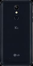 Achterkant lg k11 zwart