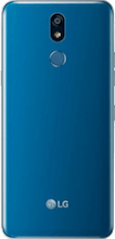 Achterkant lg k40 dual sim blauw