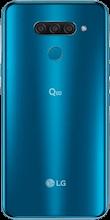 Achterkant lg q60 dual sim blauw