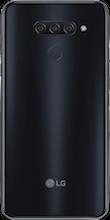 Achterkant lg q60 dual sim zwart