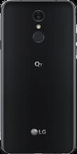 Achterkant lg q7 zwart