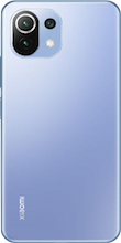 Achterkant xiaomi mi 11 lite dual sim blauw