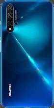 Achterkant huawei nova 5t dual sim blauw