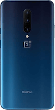 Achterkant oneplus 7 pro dual sim blauw