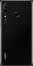 Achterkant huawei p30 lite new edition zwart