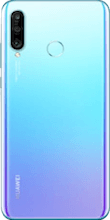 Achterkant huawei p30 lite new edition blauw