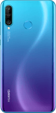 Achterkant huawei p30 lite new edition blauw