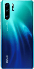 Achterkant huawei p30  pro new edition blauw