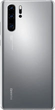 Achterkant huawei p30 pro new edition zilver
